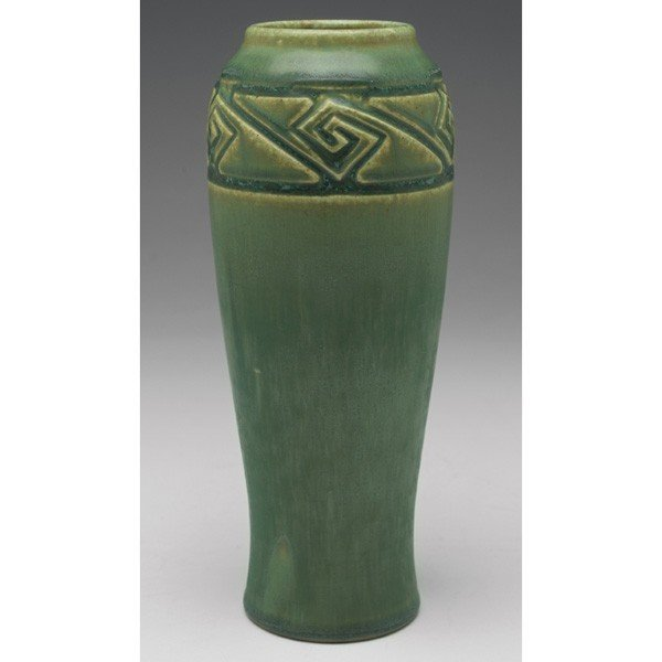 18: Rookwood vase, tapered shape