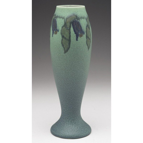19: Rookwood vase, bulbous and footed