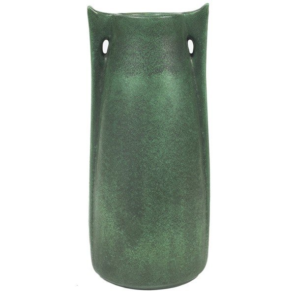 22: Large Teco vase, shape #266