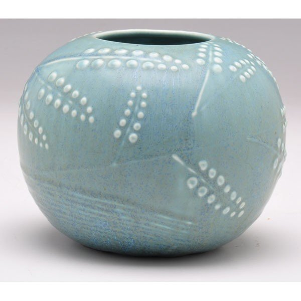 24: Rookwood vase, unusual round