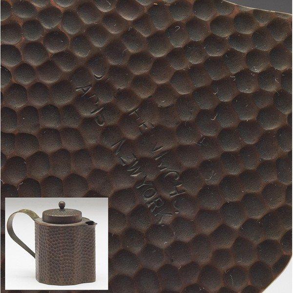 49: Joseph Heinrichs tea set, tray - 4