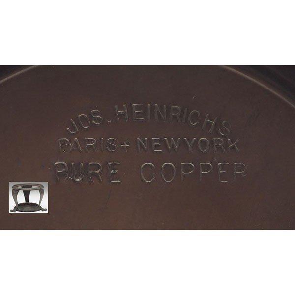 49: Joseph Heinrichs tea set, tray - 6