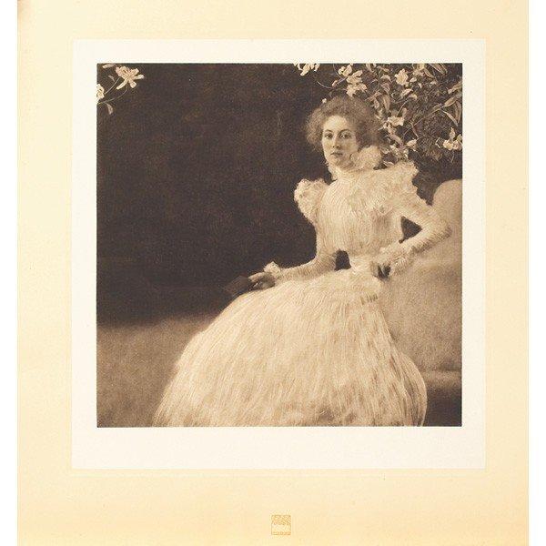 387: Gustav Klimt Portrait of Sonja Knips