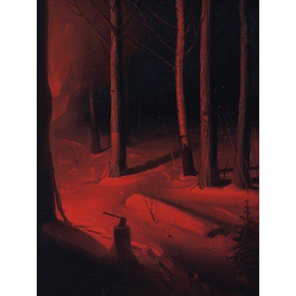 """449: Svend Rasmussen Svendsen """"Nocturnal Forest,"""""""
