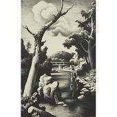 Thomas Hart Benton Shallow Creek