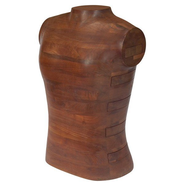 810: Gene Sherer jewelry cabinet torso