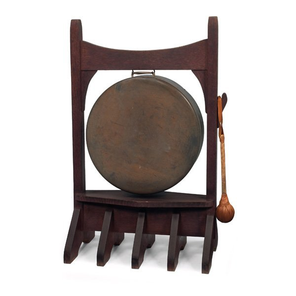 13: Gustav Stickley gong