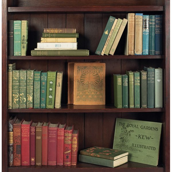 57: A grouping of books relating to Botany, Forestry an