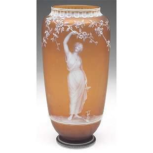519: Thomas Webb & Sons vase