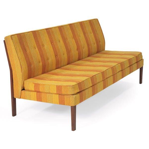 1127: Jens Risom armless sofa, by Jens Risom Design Inc