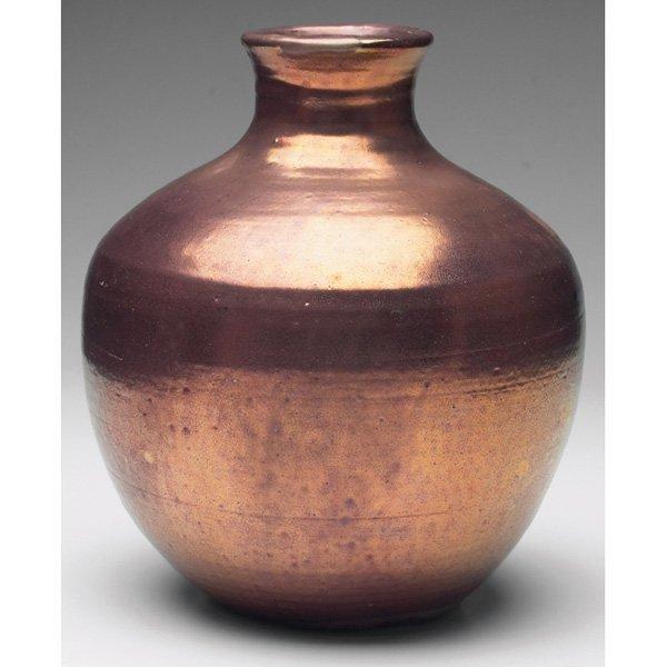 13: Pewabic vase