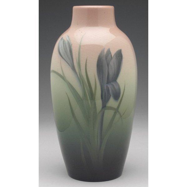 16: Rookwood vase, Iris Glaze, Carl Schmidt