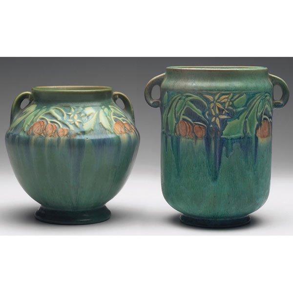 337: Roseville Baneda vase