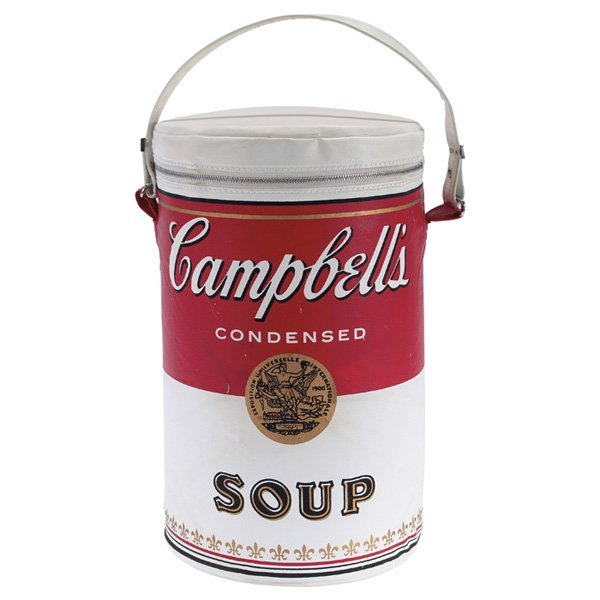 """908: (After) Andy Warhol """"Campbell's Soup Can tote bag,"""