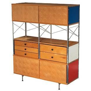 760: Charles & Ray Eames ESU 400 dimpled doors 5 drawer