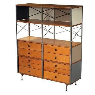 776: Charles & Ray Eames ESU 400, neutral, 10 drawers