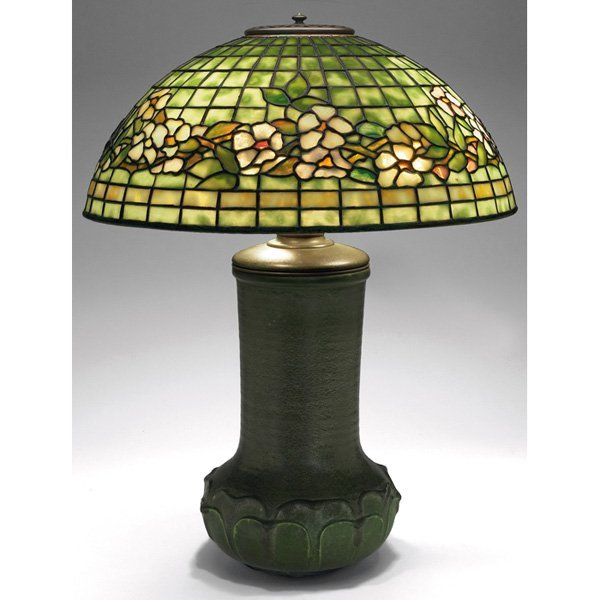 Tiffany Studios/Grueby lamp