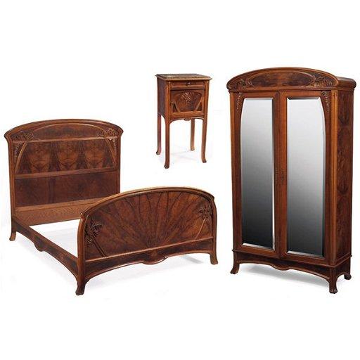 Superb European Art Nouveau Bedroom Set Download Free Architecture Designs Osuribritishbridgeorg