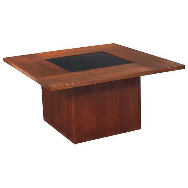 coffee table with hidden popup bar