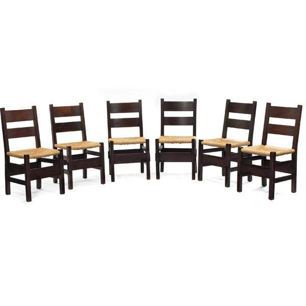 Gustav Stickley Thornden side chairs