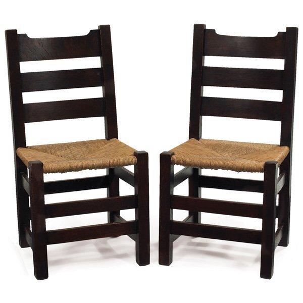 Gustav Stickley side chairs