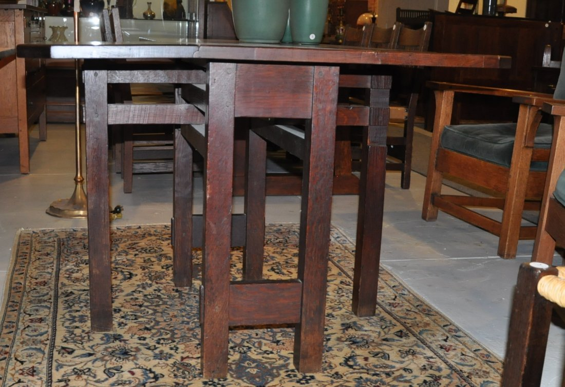 Gustav Stickley table - 9