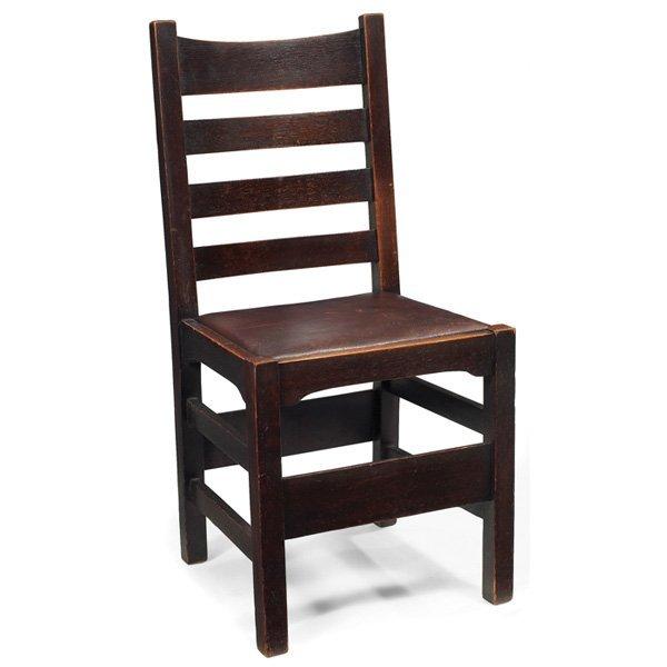 Gustav Stickley side chair