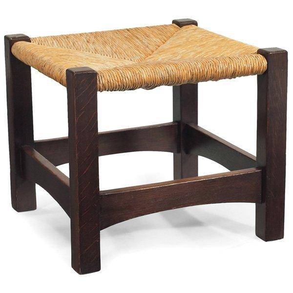 Gustav Stickley footstool