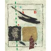 James Coignard Composition color etching carborundum