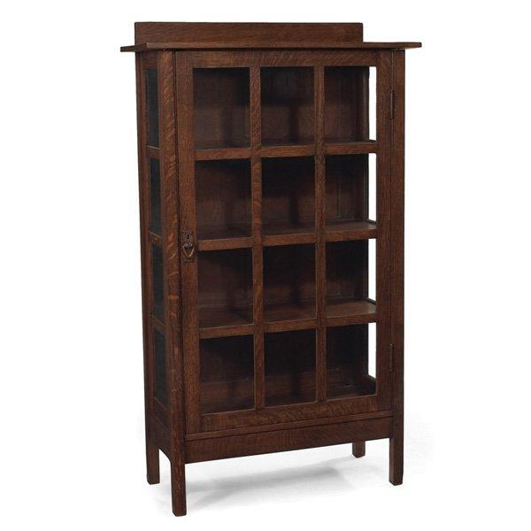 Gustav stickley china cabinet #820