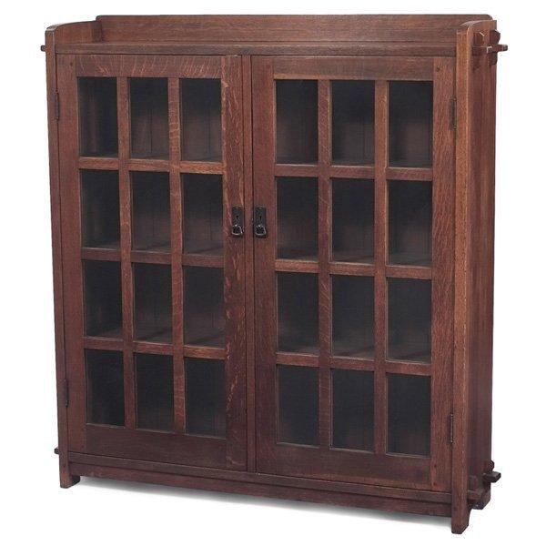 L & JG Stickley bookcase