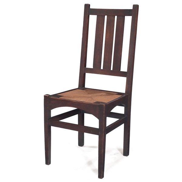 Gustav Stickley side chair #353