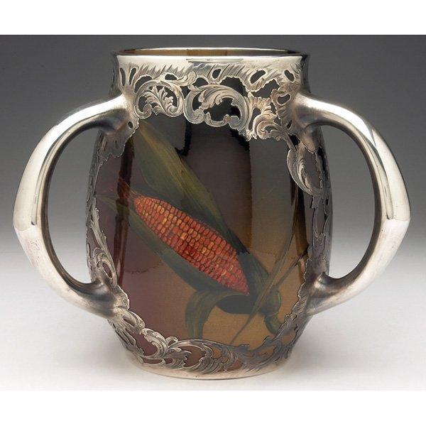 Rookwood vase Marie Valentien three handled
