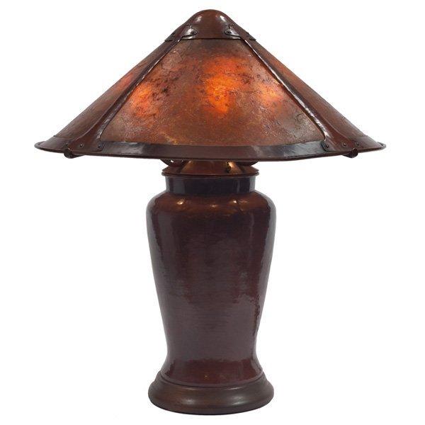 Dirk van Erp lamp copper Darcy Gaw