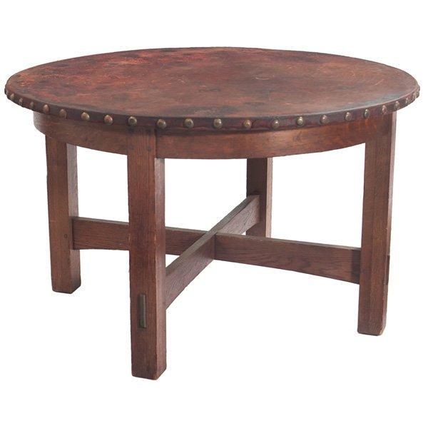 L & JG Stickley table #544