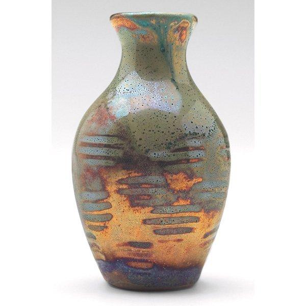 Pewabic vase rare metallic glaze