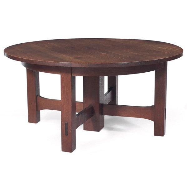 Gustav Stickley dining tableb #634