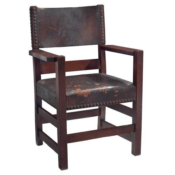 Gustav Stickley armchair #2639