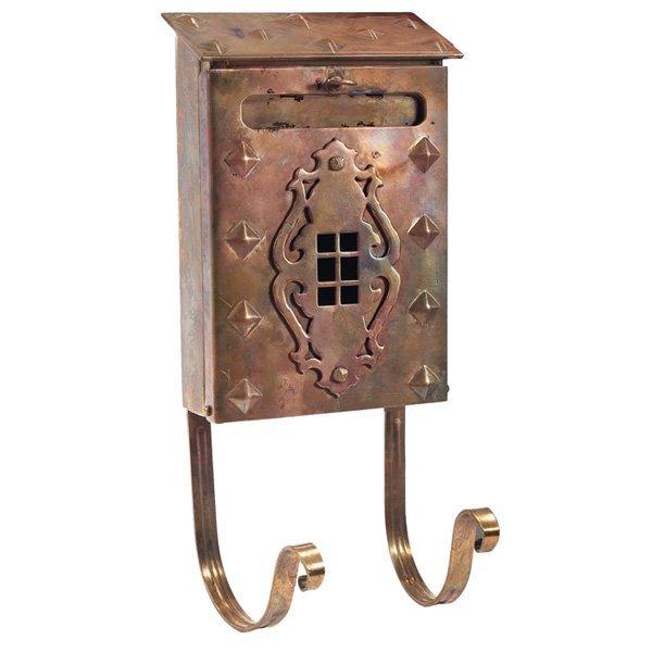 Arts & Crafts mailbox copper