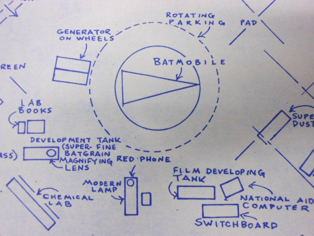 Mark Bennett lithograph, Bruce Wayne Manor - 7