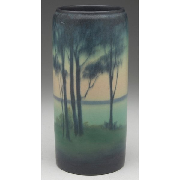 Rookwood vase Vellum glaze Elizabeth McDermott