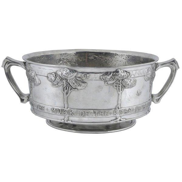 Liberty Tudric rose bowl David Veasey