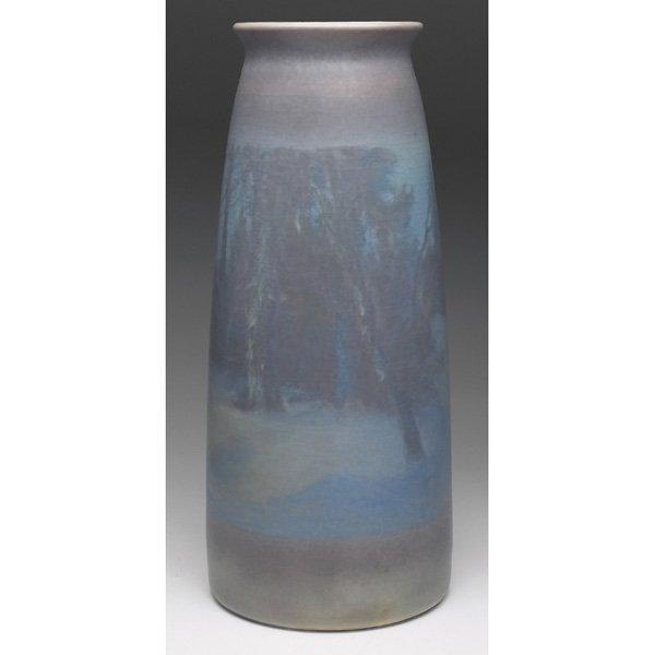 Rookwood vase Vellum glaze Fred Rothenbusch