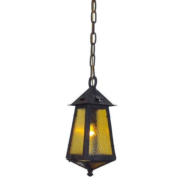 Gustav Stickley hanging lantern