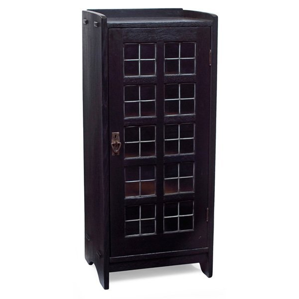 Gustav Stickley music cabinet