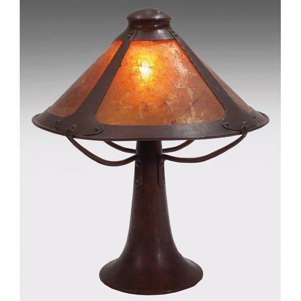 Dirk van Erp table lamp copper D'Arcy Gaw