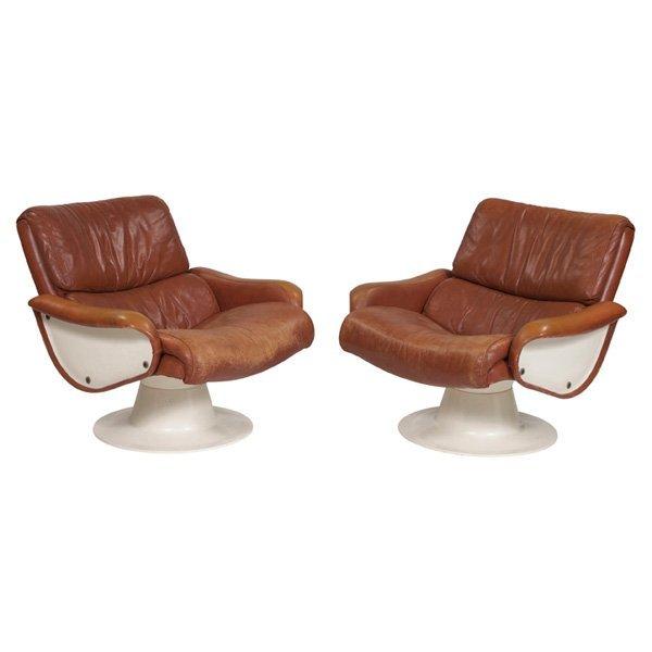 Yrjo Kukkapuro Saturn lounge chairs Haimi