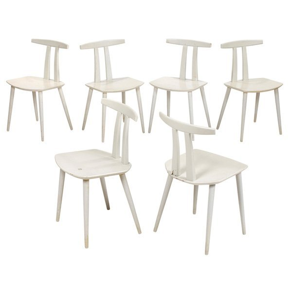 Folke Palsson dining chairs F.D.B. Mobler