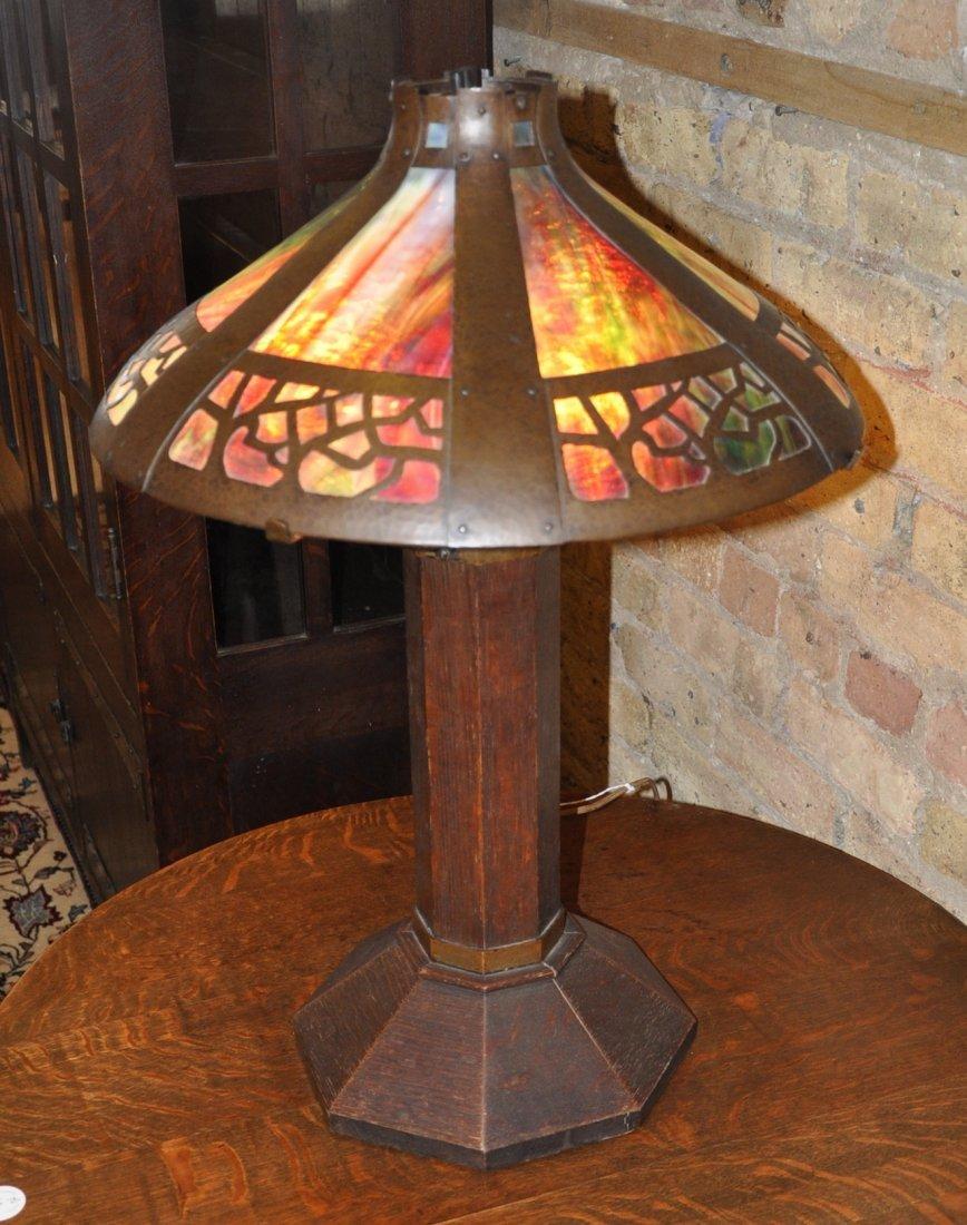 Gustav Stickley table lamp, 625 - 2