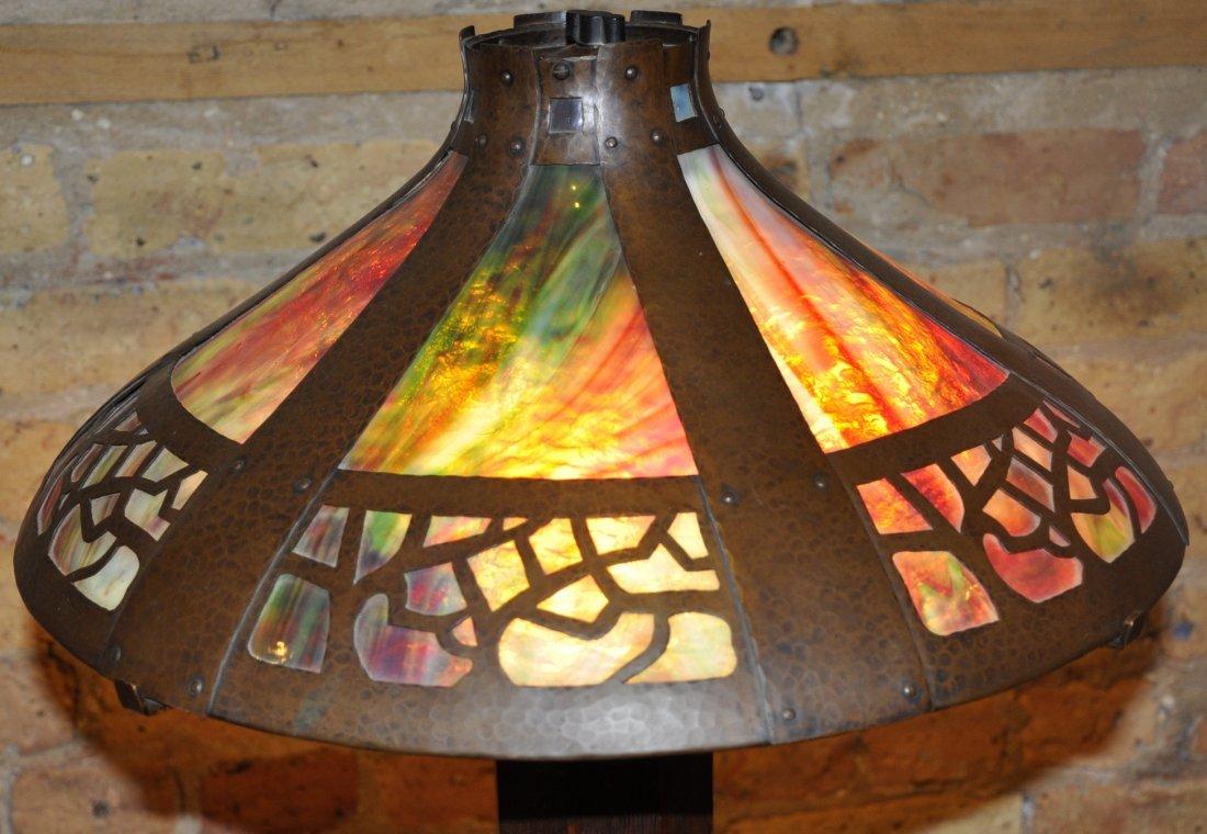 Gustav Stickley table lamp, 625 - 3